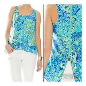 Lilly Pulitzer Aerial silk top